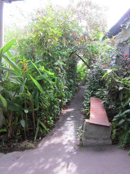 El jardín delantero