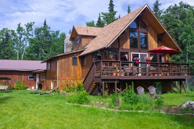 A Piece of Paradise, vacation rental in Clam Gulch
