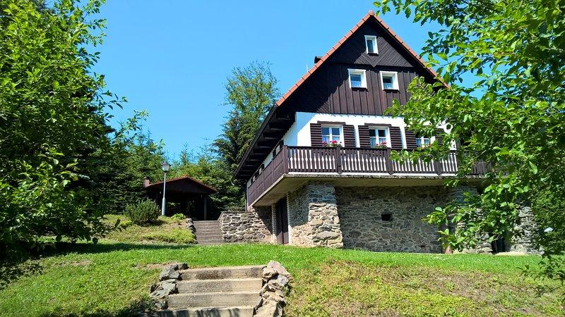Chalet Lomy, location de vacances à Zamberk