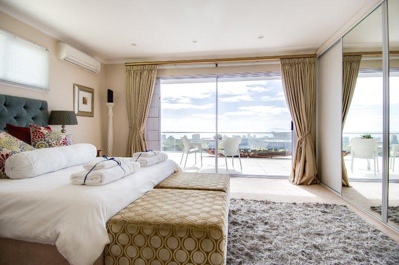 Stunning sea views from bedroom