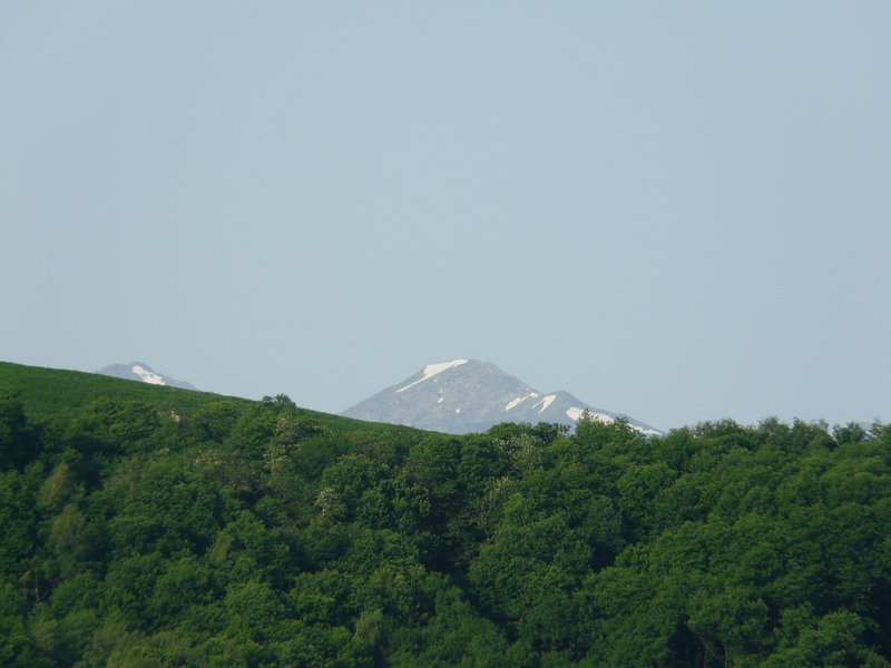 View of the Mont Valier, the most famous of the Ariege Pyrenees.