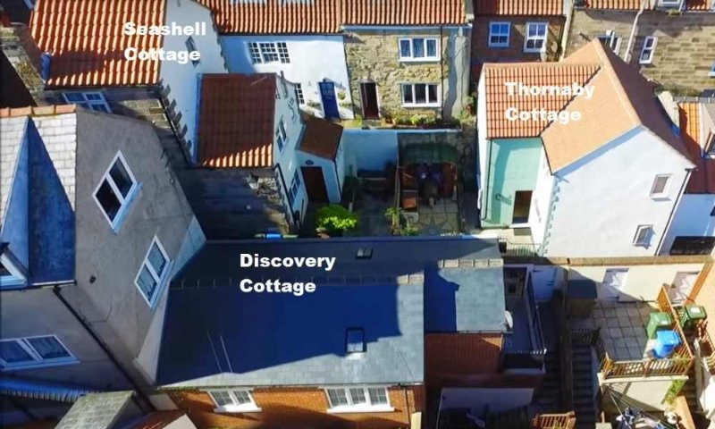 Drone footage view off our cottages can be seen you tube well worth a search to see