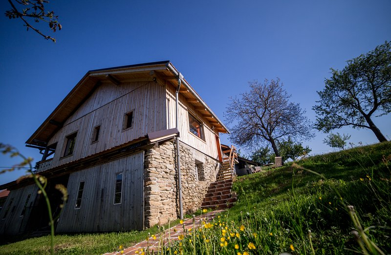 A piece of paradise in isolation. Best for hiking, biking, skiing or just relaxing. Come to Razborca