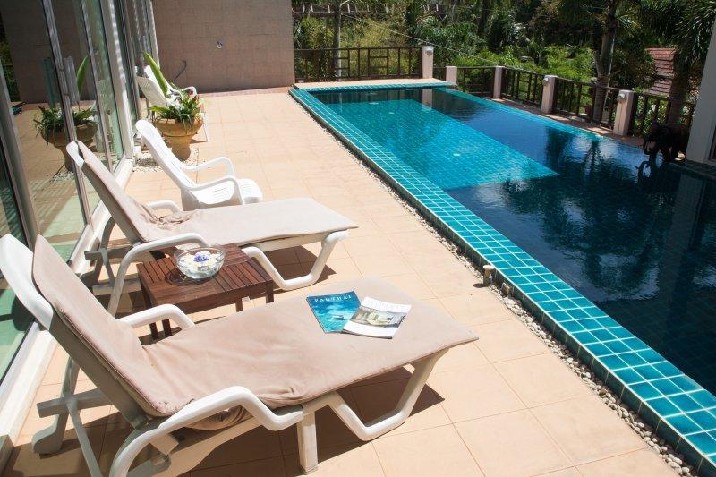 Sunshine Pool  Villa lamai with Seaview, holiday rental in Lamai Beach