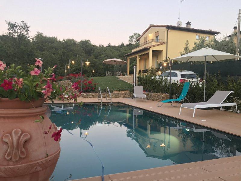 Casa di campagna Pianelli, alquiler de vacaciones en Pergine Valdarno