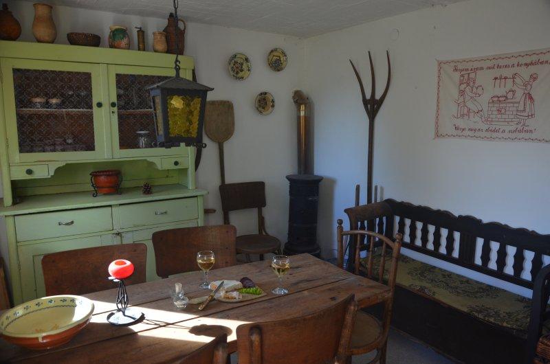 Casa del cervatillo, bodega