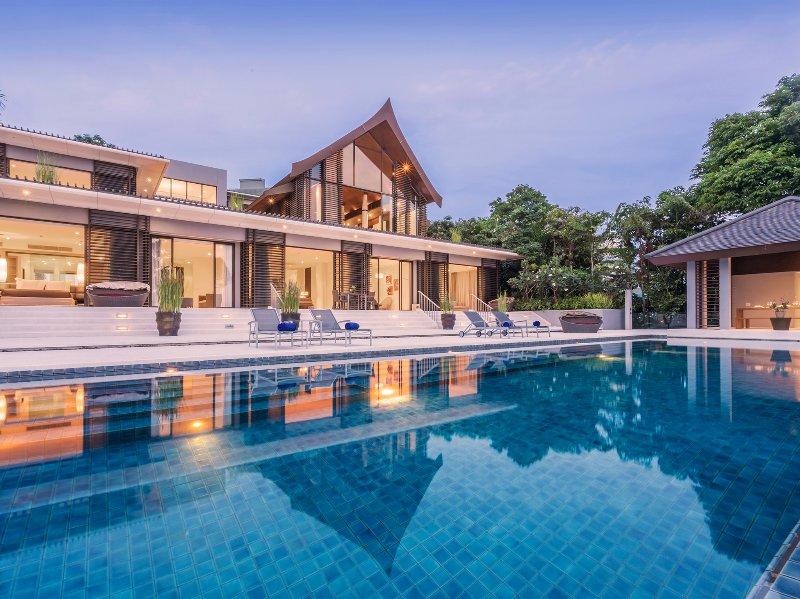 Baan Maprao - Die Villa und Pool