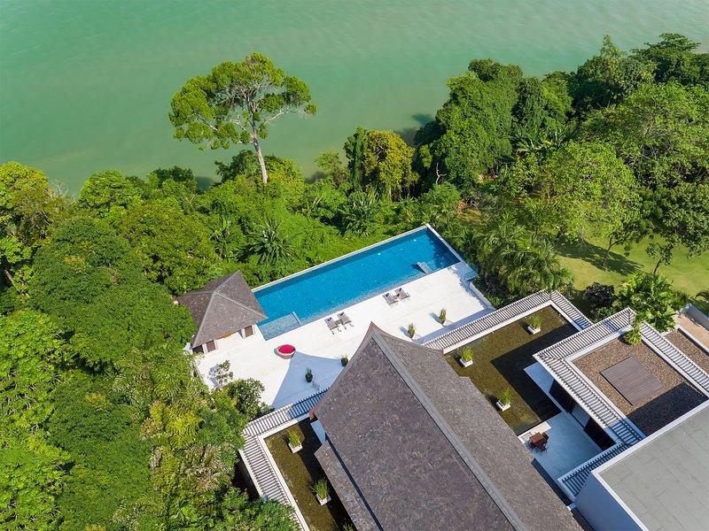 Baan Maprao - Die Villa von oben