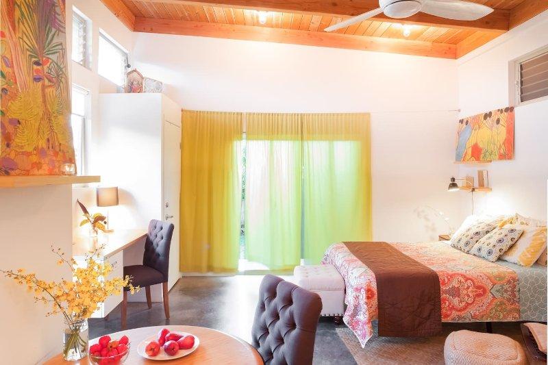Self-Contained Eco-Farm Studio, alquiler de vacaciones en Kaimu