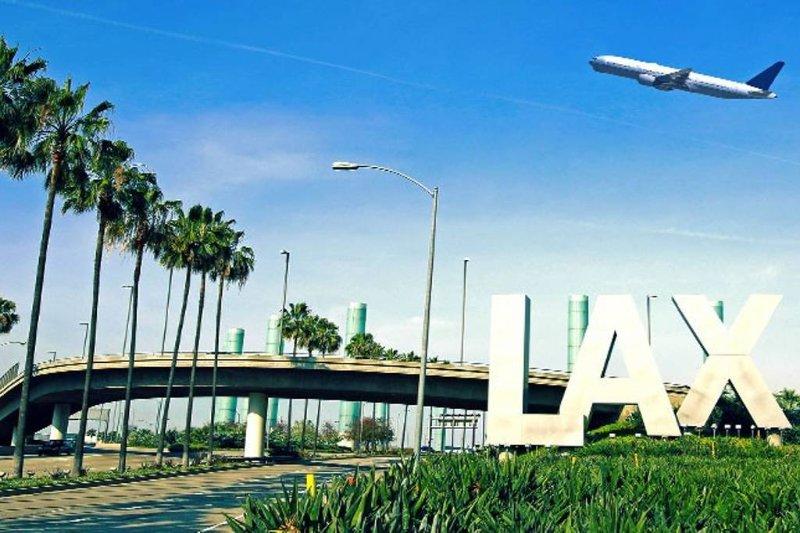 LAX international airport - 29 miles away