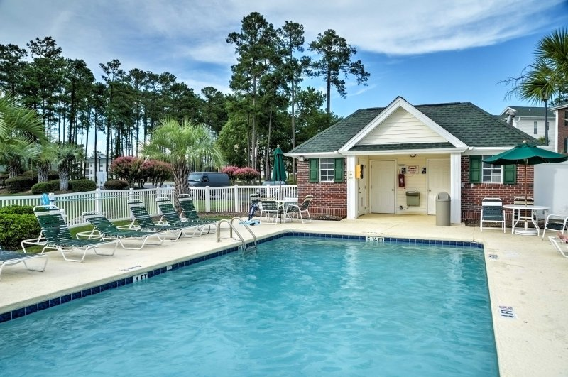 Leave your worries behind and stay at this Myrtle Beach vacation rental condo!