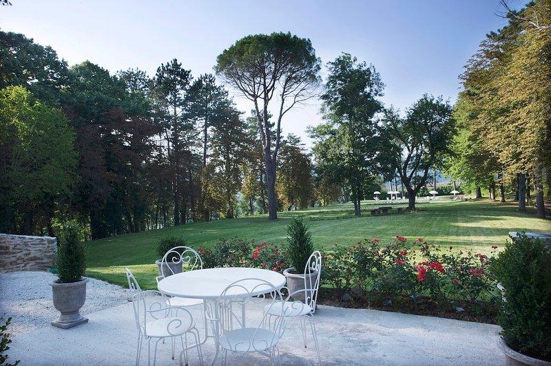 Luxury villa Castello Ducale, holiday rental in Scritto