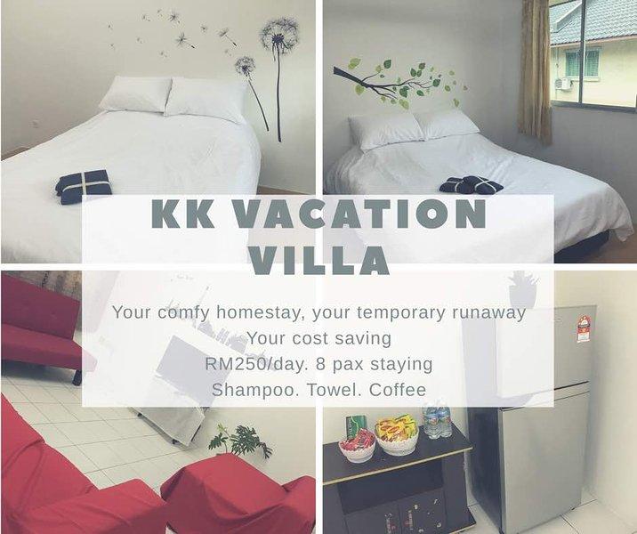 kota kinabalu vacation vila 3sty townhouse /机场, alquiler de vacaciones en Kota Kinabalu