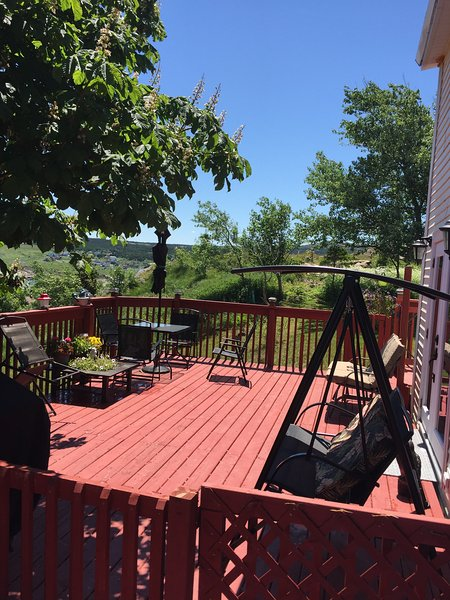 Escape the city and sit back on the furnished patio for some true, country, rest & relaxation