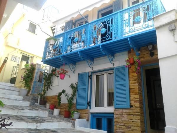 Skopelos Town House Villa, location de vacances à Ville de Skopelos