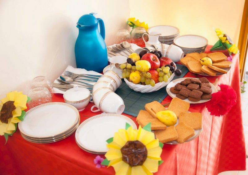 Buffet-frukost