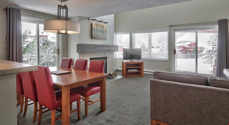 El diseño de concepto abierto de la casa es ideal para conseguir que todos juntos