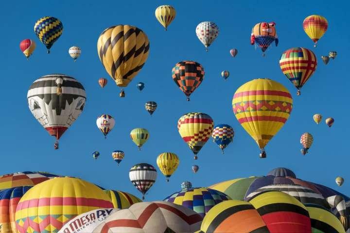 El festival del globo Snowmass se lleva a cabo cada mes de septiembre y es un evento icónico caída no se puede perder.
