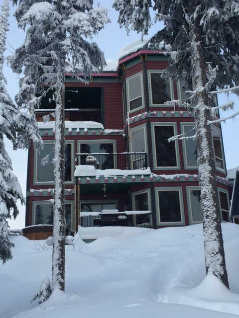 10/10 Location - Private Backyard Backing on to Skiway - Less than 5 Minute Walk Or Ski to the Villa