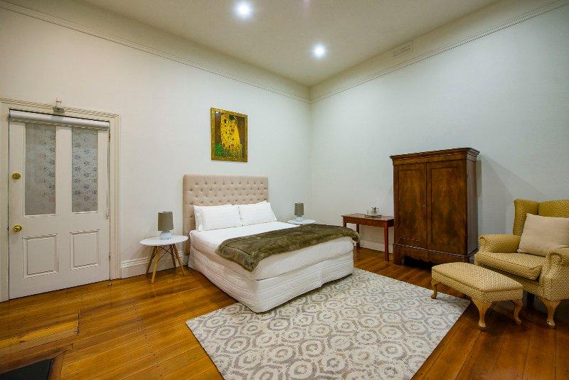Huge bedroom with Queen Bed