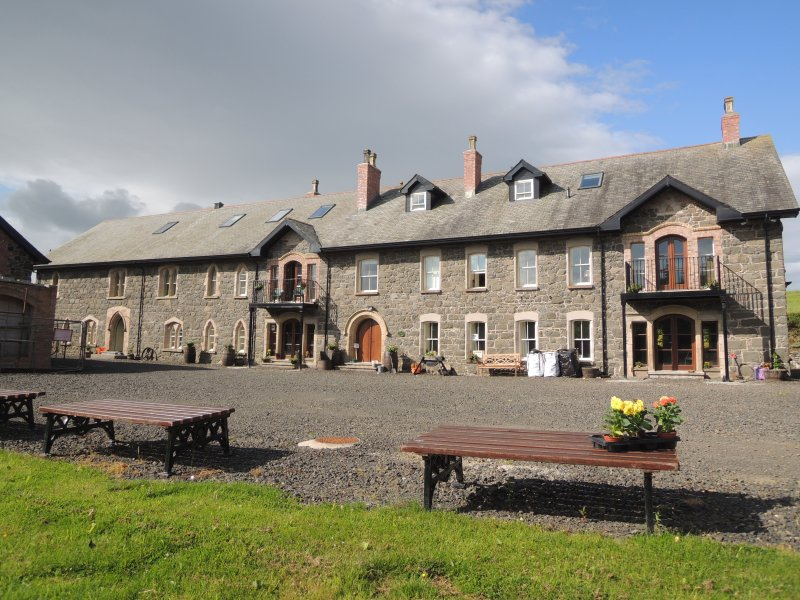 The Flax Mill,- NW Coast, a unique heritage stay, holiday rental in Maghera