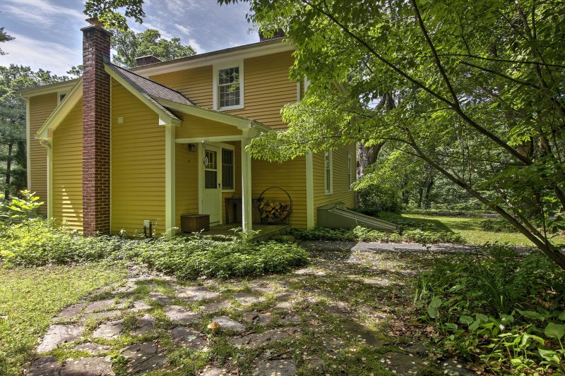 The charming home is the ideal place to stay during your Massachusetts getaway.