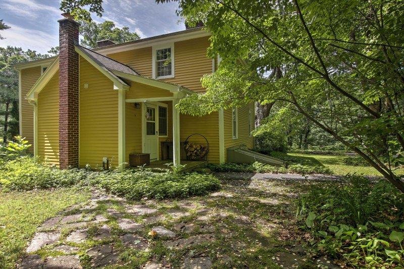 La encantadora casa es el lugar ideal para alojarse durante su estancia de Massachusetts.