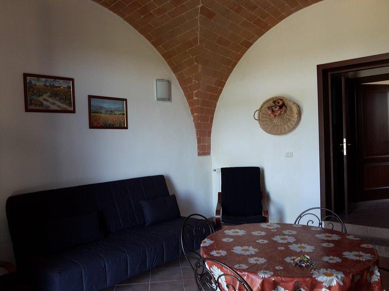 Appartamento Ponentino, holiday rental in Partino