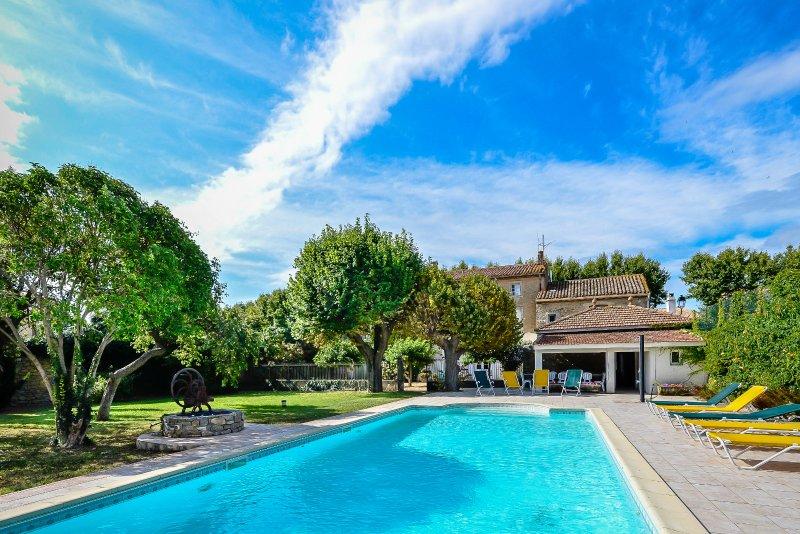Demeure Saint-Brès, holiday rental in Rieux Minervois