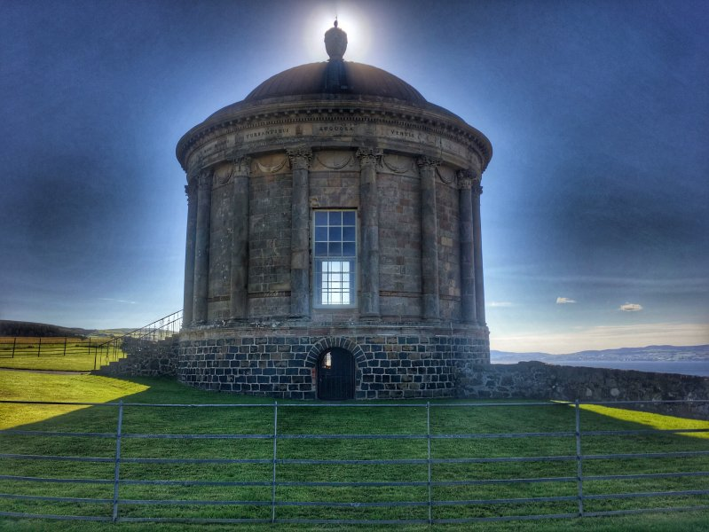 Perto Mussenden Temple (National Trust)