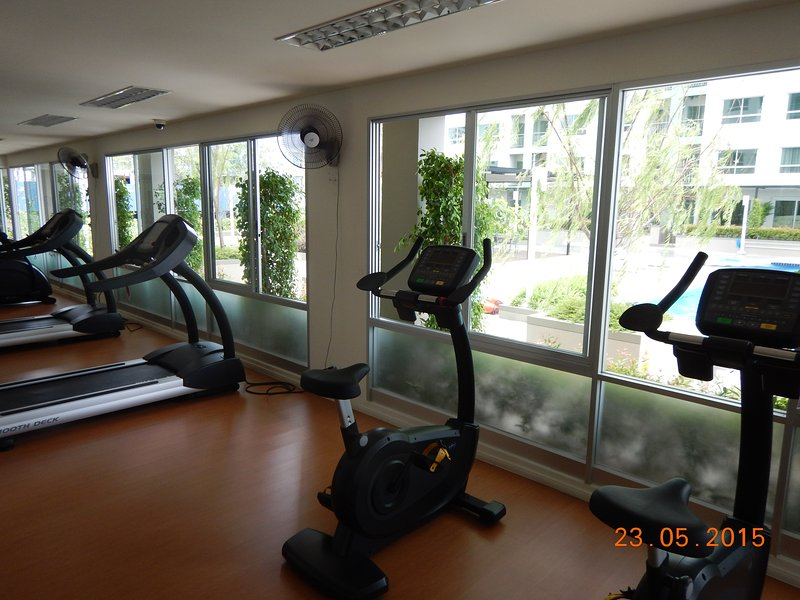 Fitness center, free for guest