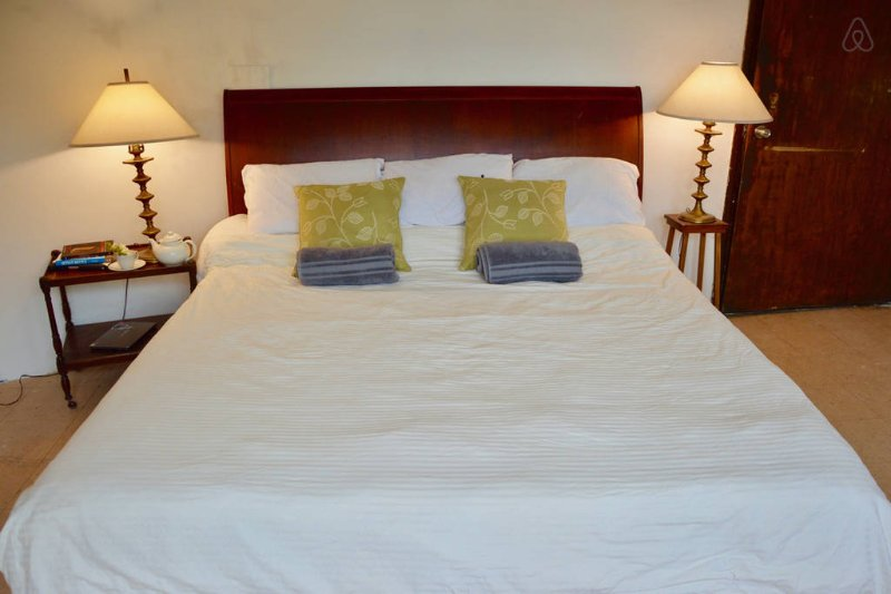 Spacious Rustic Room. Comfy King Bed with Memory Foam Mattress (Size: 76'×80')