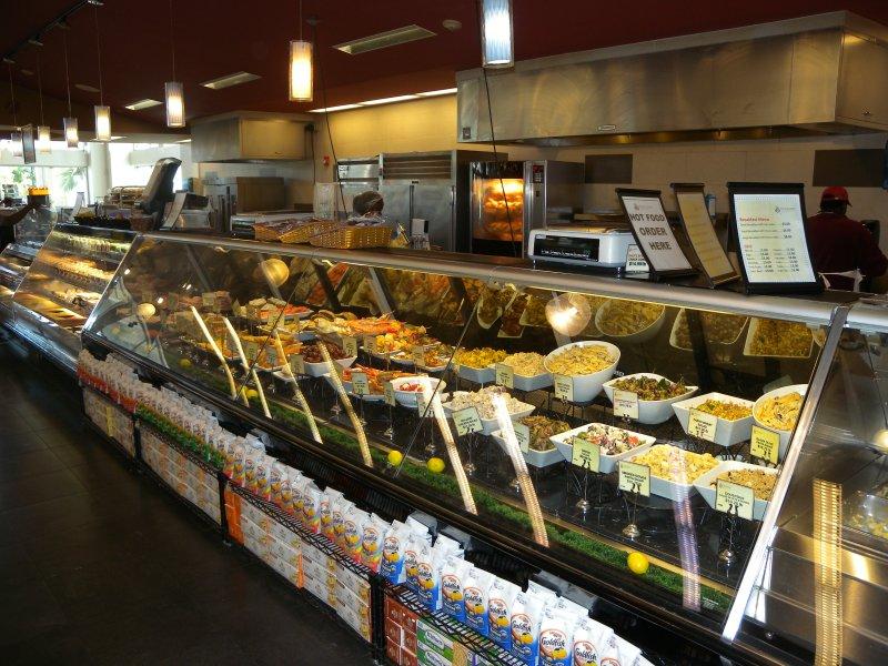 Las tiendas de comestibles están muy cerca y bien surtido (menos de 5 minutos)