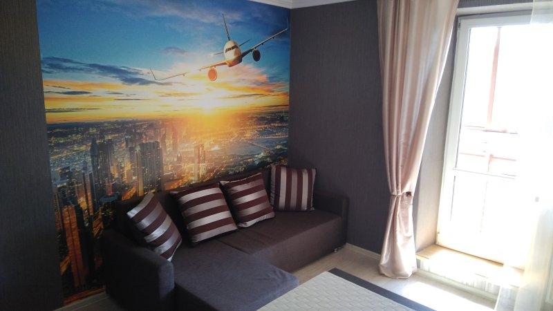 Studio flat Pulkovskoye, alquiler de vacaciones en Gatchina