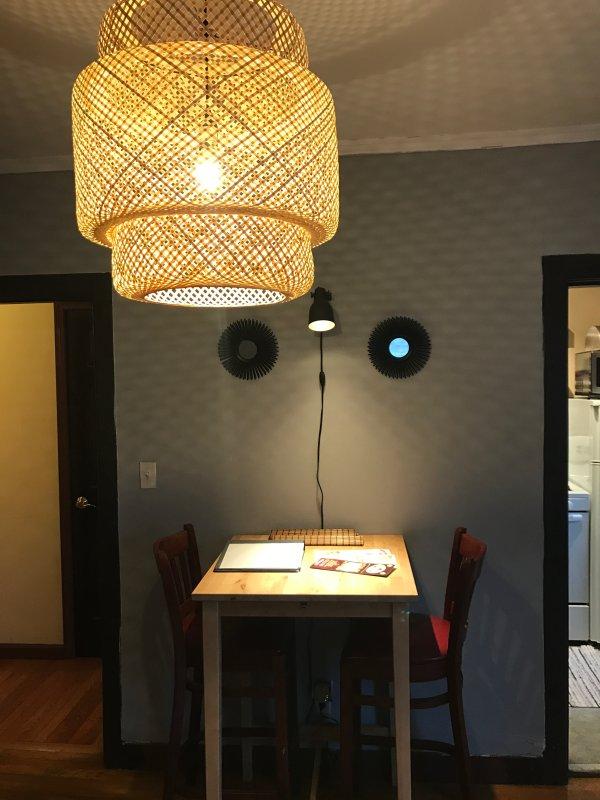 sala de jantar / sala de estar de combinação