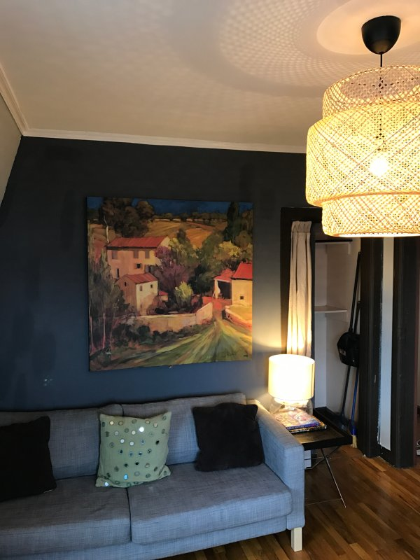 Sala de estar / armazenamento para a esquerda