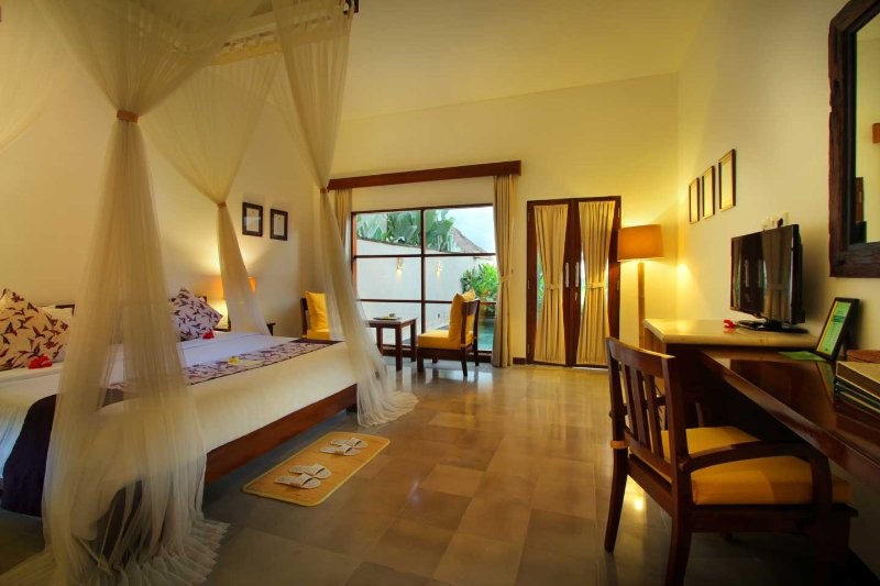 1BR Villa Private Pool in Ubud with Free Yoga Class, alquiler vacacional en Melayang