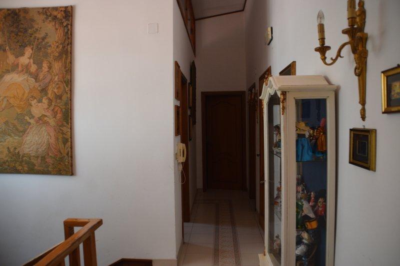 the corridor of the upper floor
