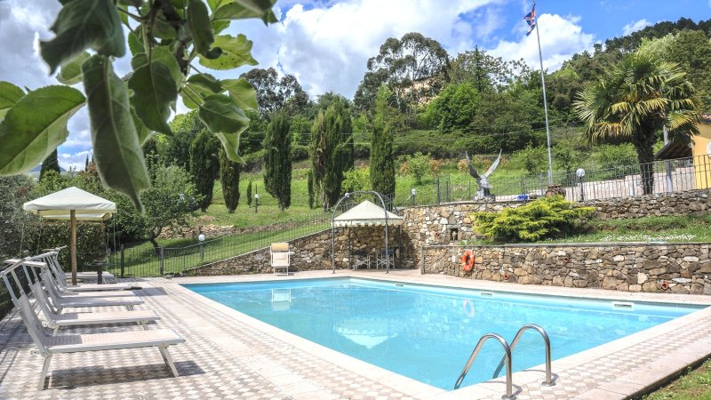 Villa - Tuscany -Lucca with Pool only for Yours private use -ALL INCLUSIVE, vacation rental in Diecimo