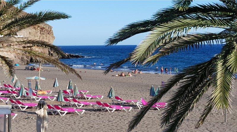 Taurito beach