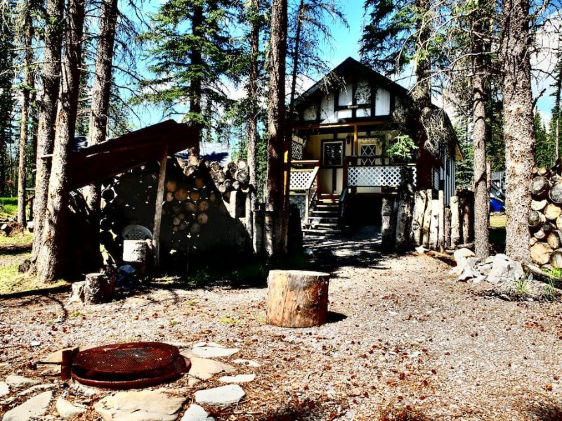 Kutenai Cottage fogueira privada