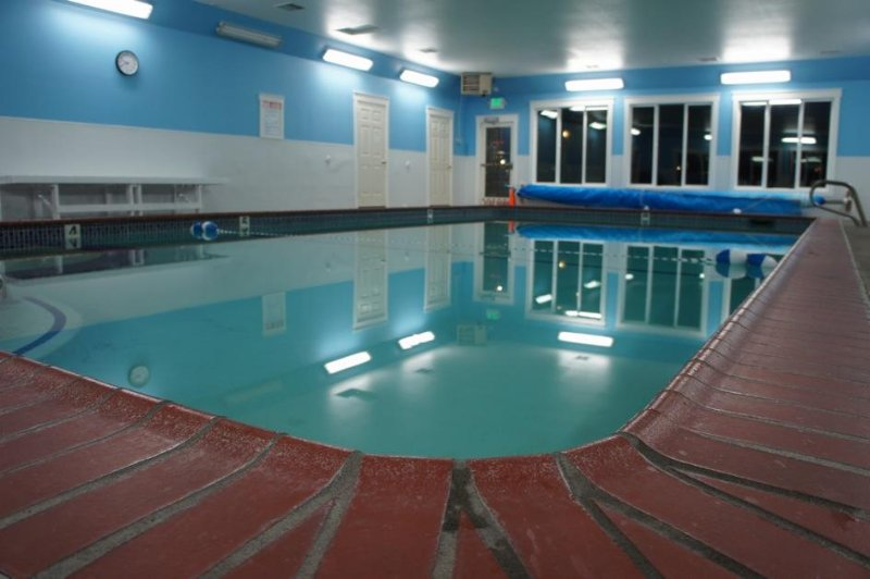 We have an indoor heated pool open year-round