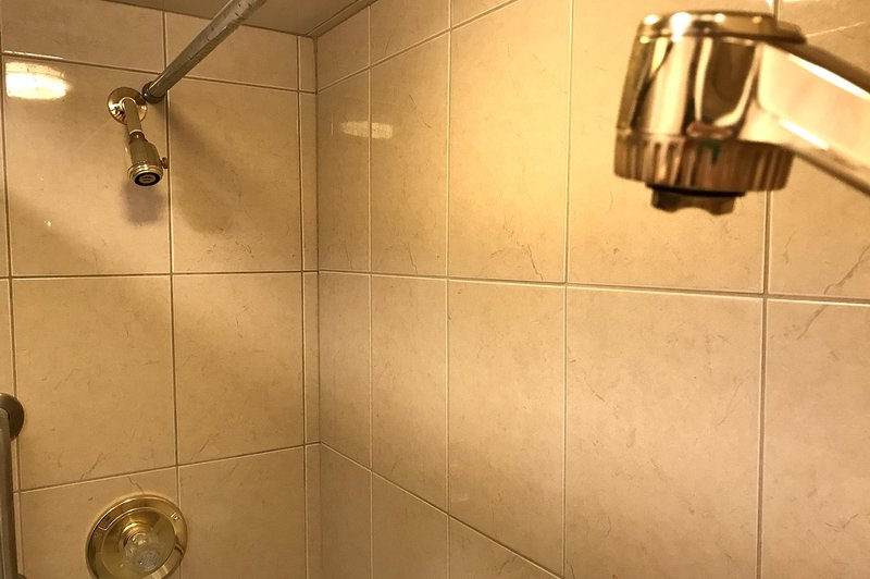And duel showerheads, of course