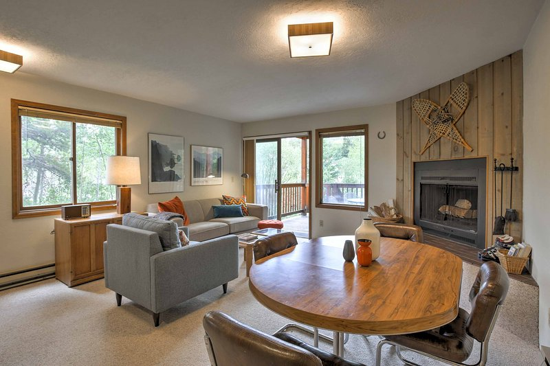 Elevate your next mountain retreat in this 4-bedroom, 3-bathroom Breckenridge vacation rental townhome.