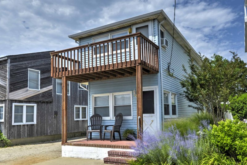 A memorable beach retreat awaits you at this 3-bedroom, 2.5-bath vacation rental home in Ship Bottom!