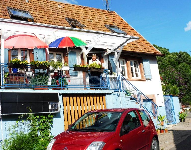 Pfalzhaus im Trifelsland mit Sonne im Wein, holiday rental in Rhodt unter Rietburg