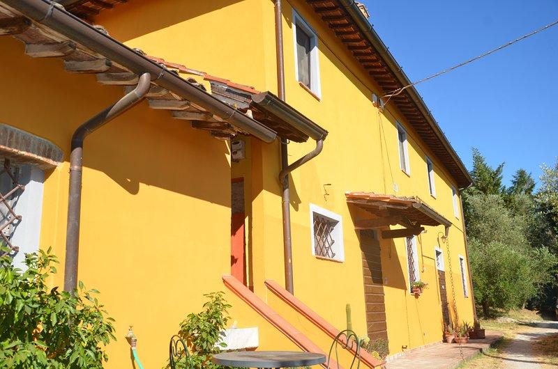 Casa in campagna immersa nelle colline toscane  a SAN MINIATO, vakantiewoning in San Miniato
