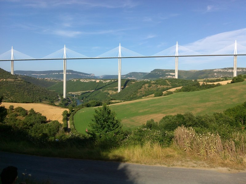 Around Millau Viaduct