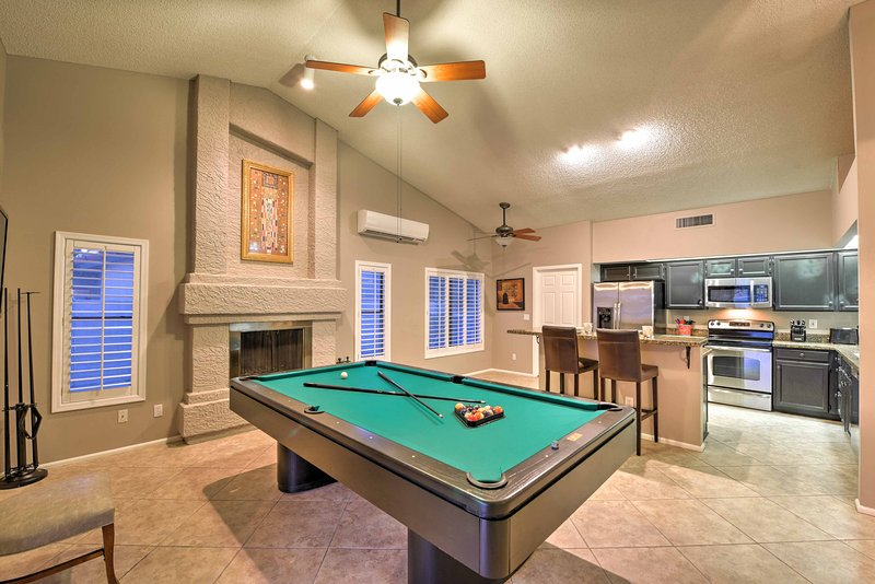 Modern amenities and plush furnishings comfortably accommodate everyone.