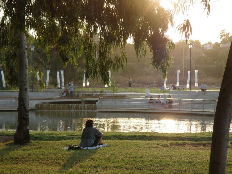 Herzelyia park nearby